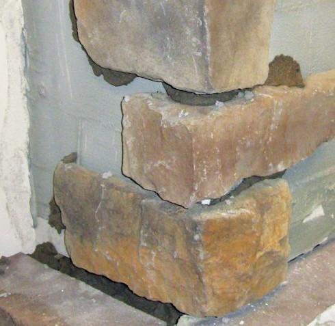 Stone Corner Installation