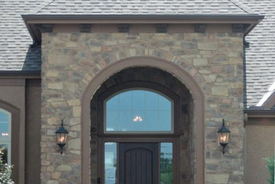 Country Ledge / Tuscan Fieldstone Mix: Chestnut image