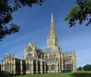 Salisbury Cathedral England-Wall Stone Homes image