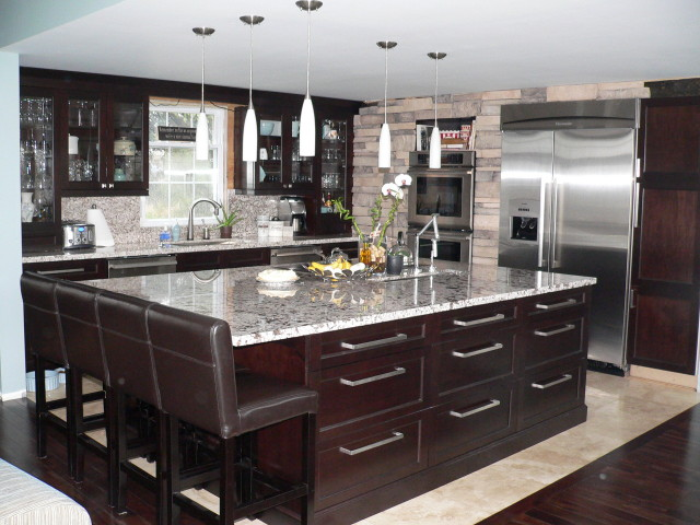 Panel Stone Veneer in the Kitchen image