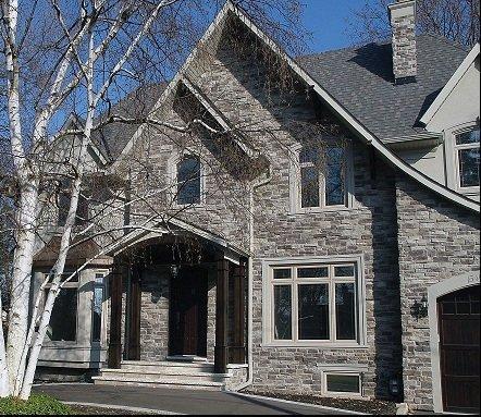 Exterior Home Stone Siding