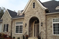 Faux Stone Siding Man Made Stone Cladding Exterior House