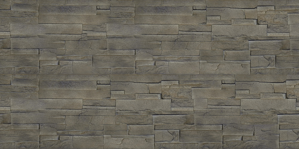 DRY STACK BROWN STONE TILE
