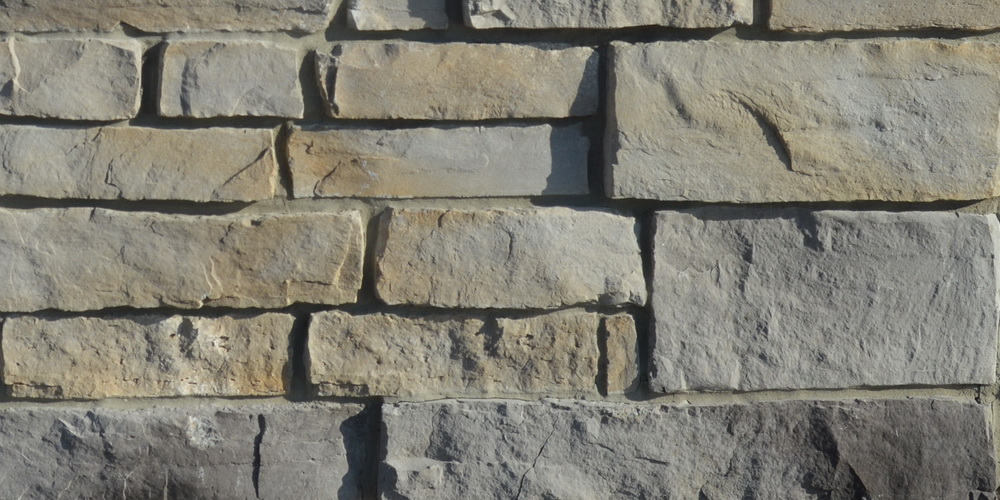 FAUX STONE VENEER CALEDON LEDGE GOLDEN GREY