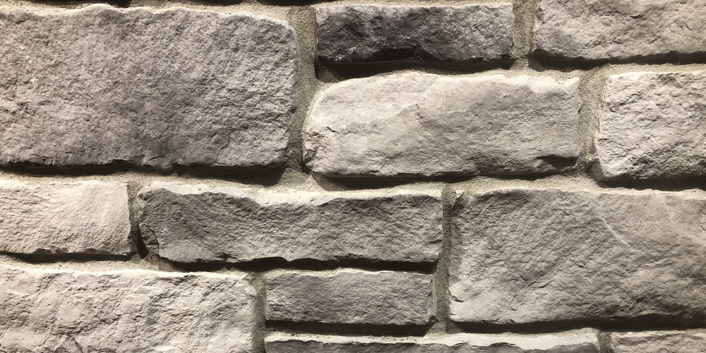 FAUX STONE VENEER RUBBLE SEAPORT MIST